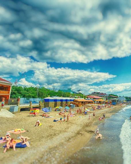 Пляжи Судака Крым