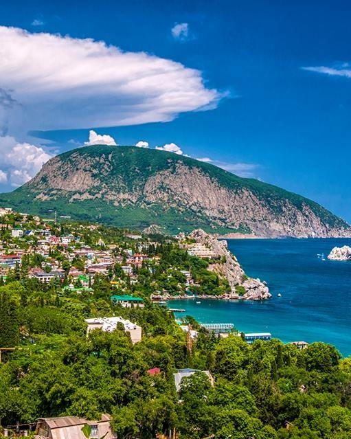 Крым вид на Аю-Даг